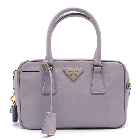 Lux Boston Saffiano Small Top Handle Bag