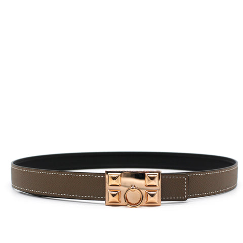 Hermes Collier de Chien belt buckle & Reversible Belt