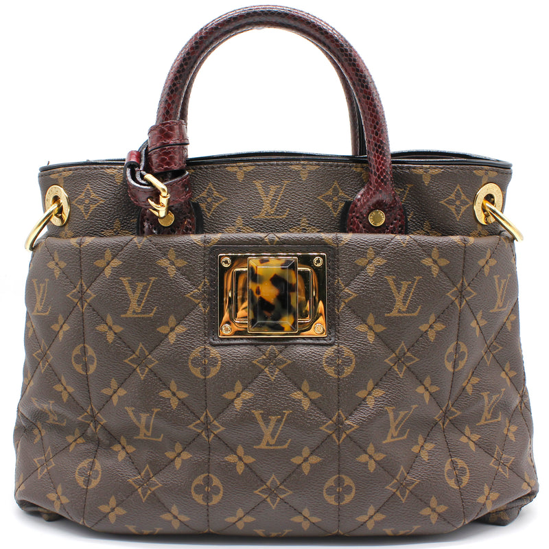 Louis Vuitton Monogram Etoile Exotique MM Bordeaux