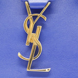 Calfskin Small Monogram Cabas Blue