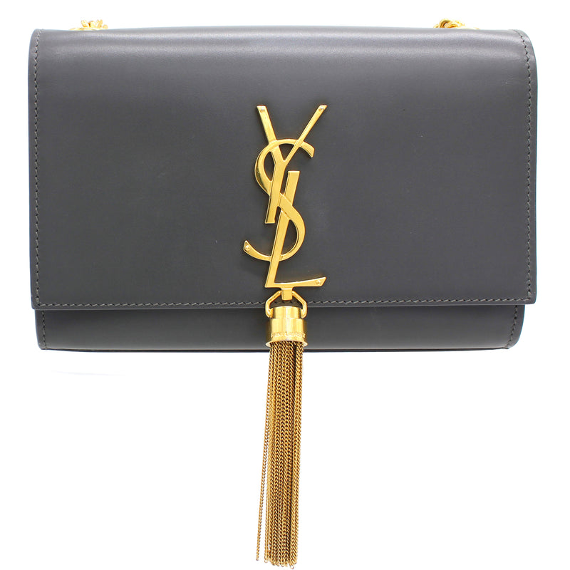 Saint Laurent Small Kate Bag with Tassel in Smooth Leather