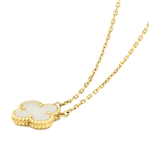 Vintage Alhambra Necklace Yellow Gold