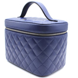 Cosmetic Case Quilted Lambskin Medium