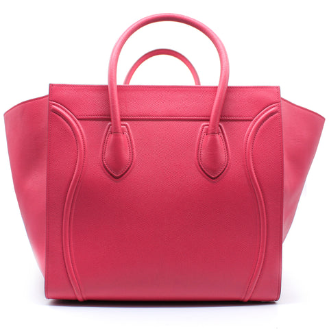 Medium Luggage Phantom Bag in Calfskin