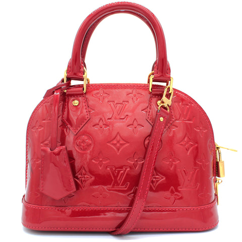 Alma BB in Red Patent Leather