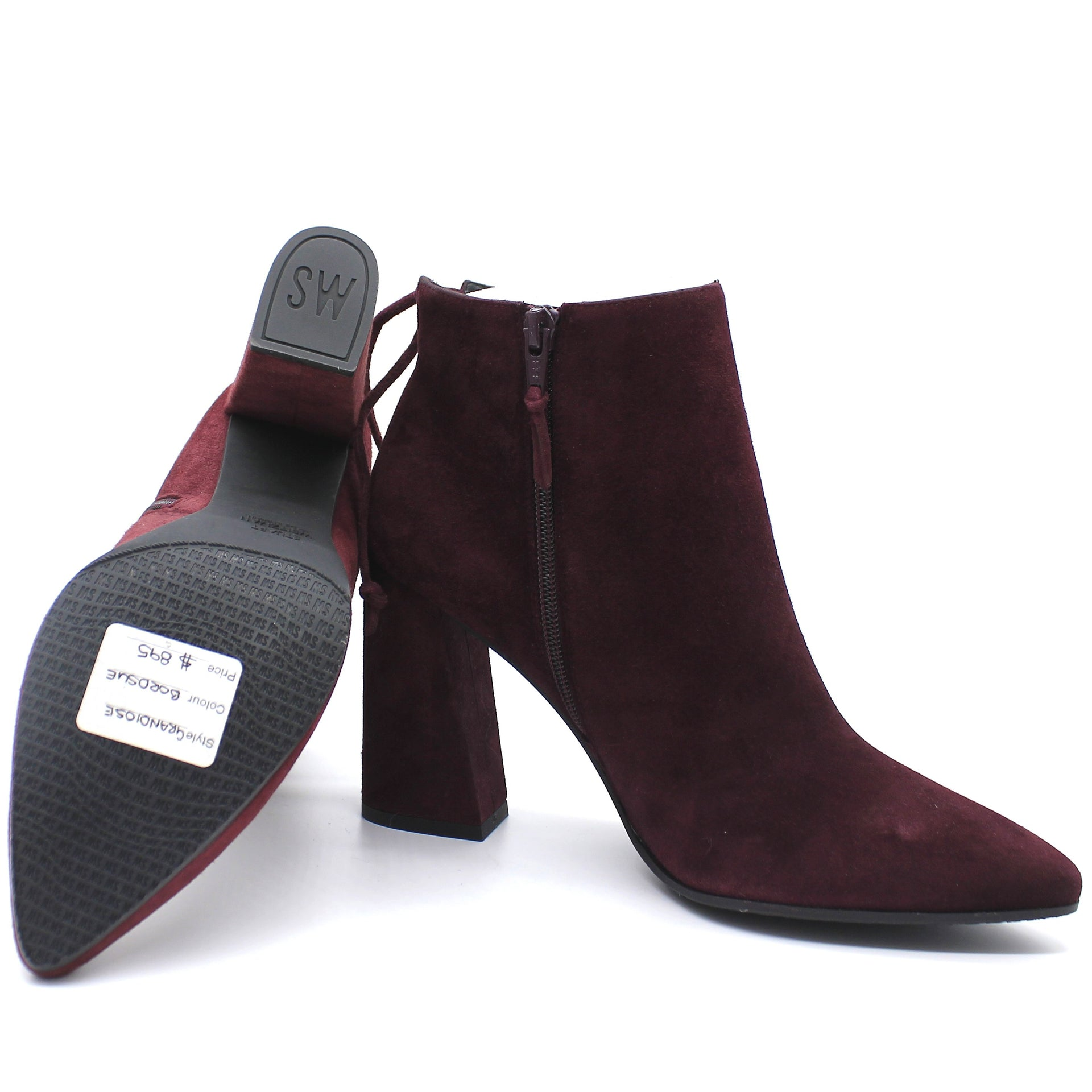 Grandiose Suede Pointed-Toe Bootie