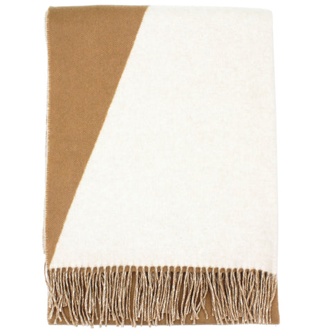 Gold Beige Double side Casaque stole