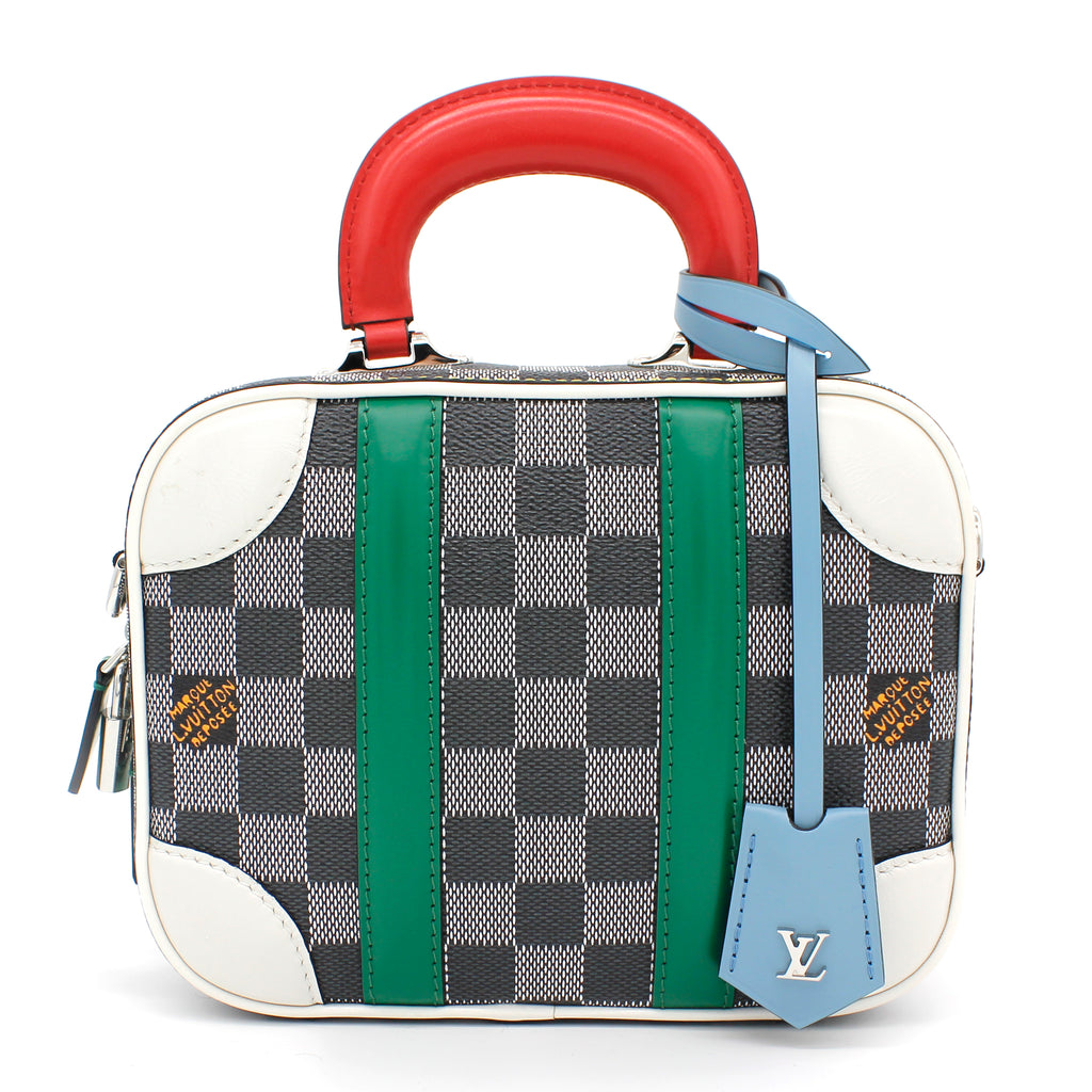 Valisette BB Damier coated canvas