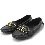 Bordeaux Patent Leather Oxford Loafers