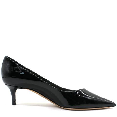 Essense Patent Leather Low Heel Pumps