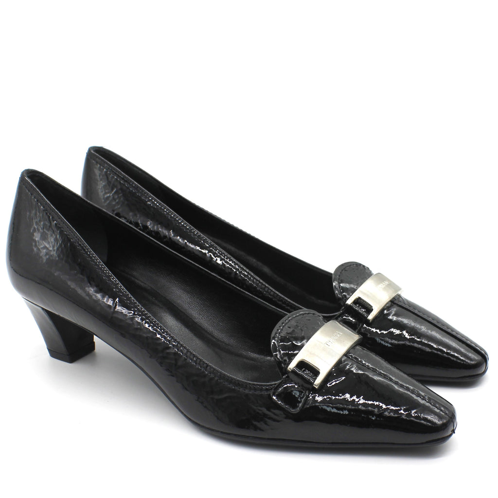 Patent Low Heel Pumps
