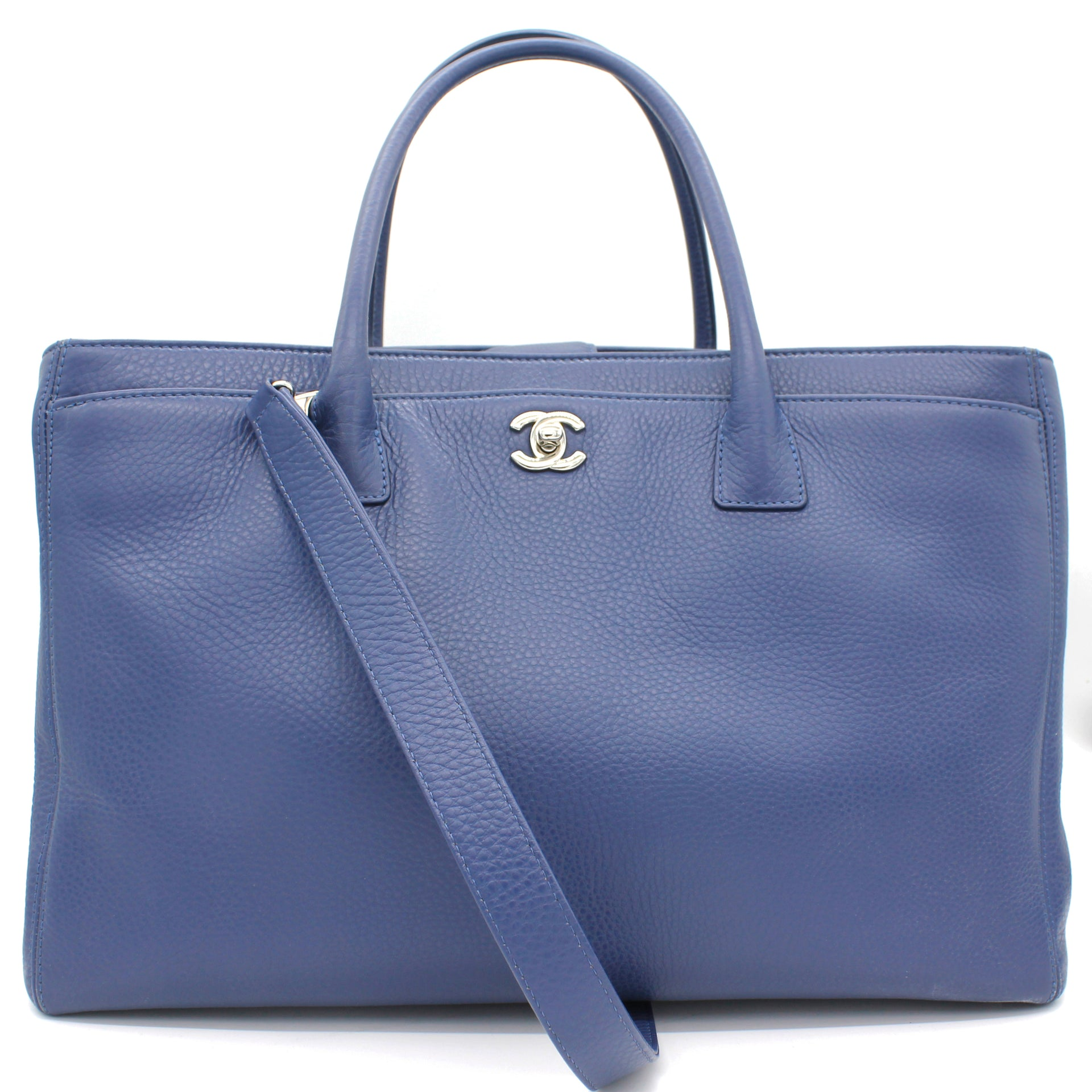 Executive Cerf Tote Navy Blue