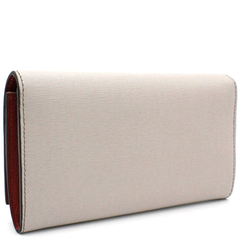 Vitello Elite Monster Continental Wallet Grey Multicolor