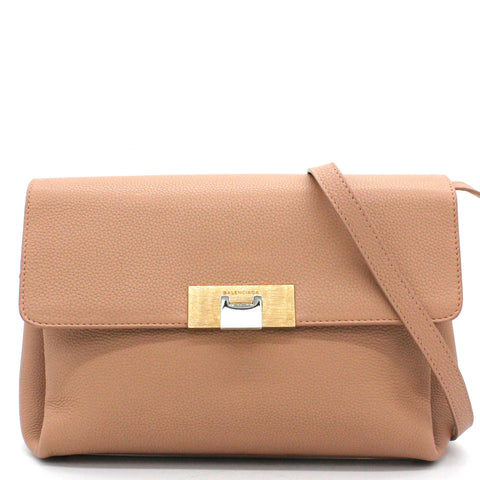 Le Dix Soft Courrier Bag Leather Small