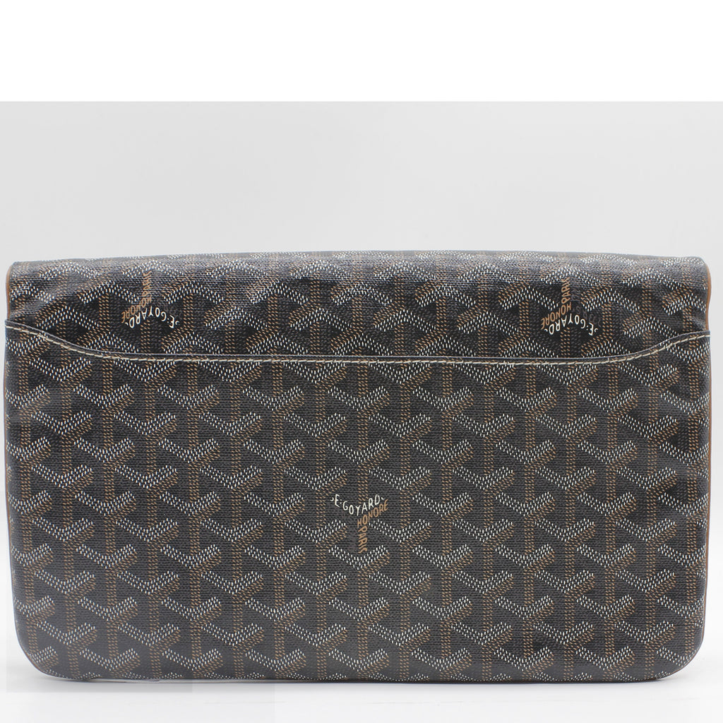 Saint Marie Clutch Coated Canvas
