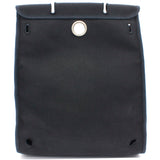 Black Canvas and Leather 2-in-1 Herbag 31 Backpack