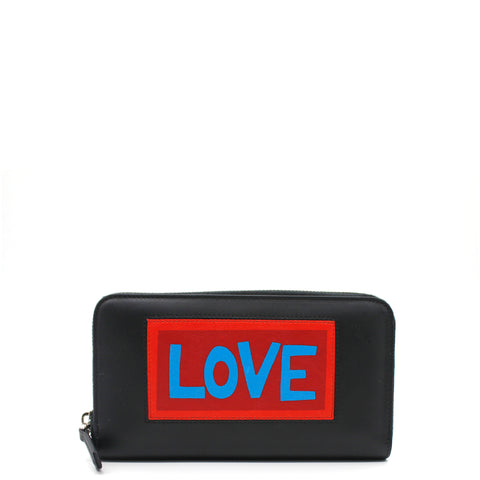 Vocabulary 'Love' Continental Wallet