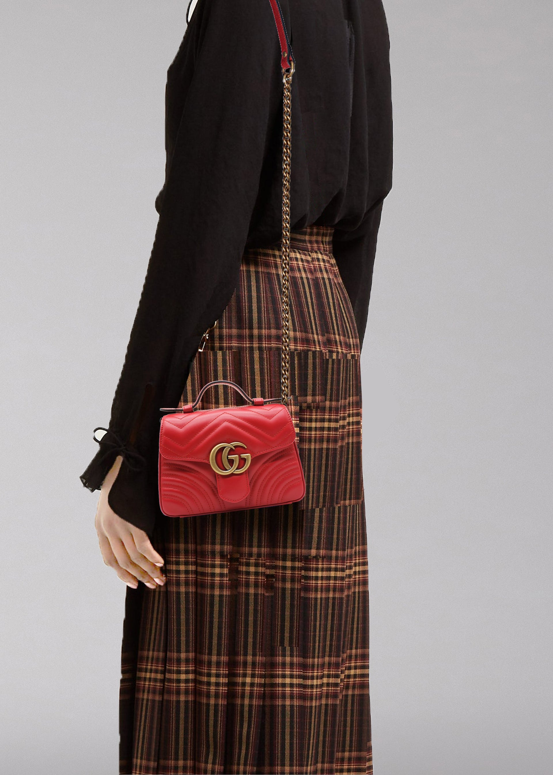 Gucci GG Marmont mini top handle bag
