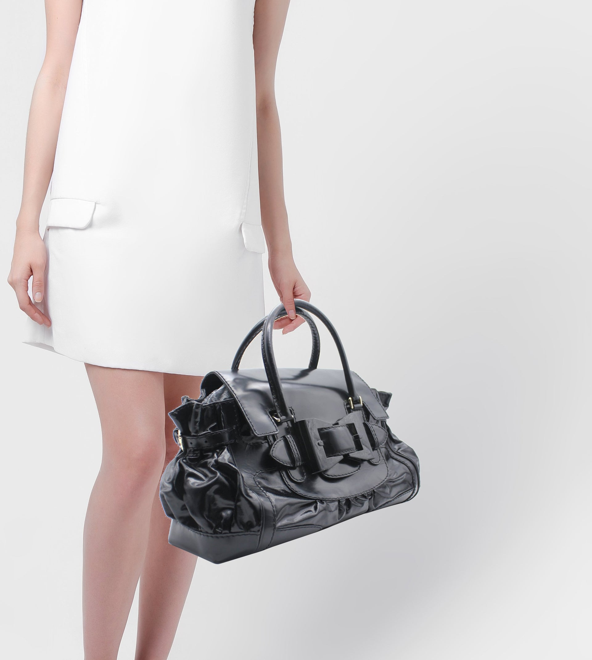 Delvaux Dialux Large Queen Tote