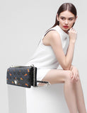 Christian Dior Diorama Embroidered Lambskin Bag