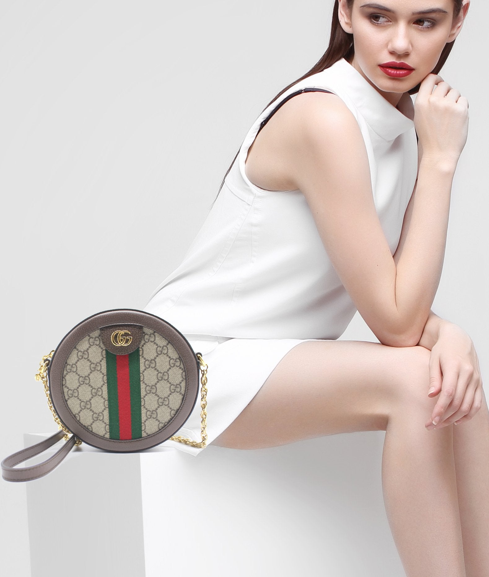 d29034a1b65 Gucci Ophidia GG round shoulder bag – STYLISHTOP