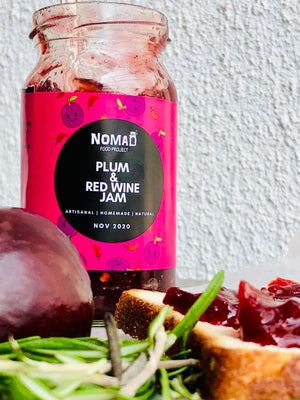 Plum & Red Wine Jam