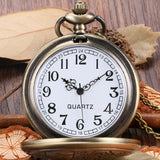 Vintage Bronze Doctor Quartz Pocket Watch Fashion Who Style Best Gift Necklace Pendant