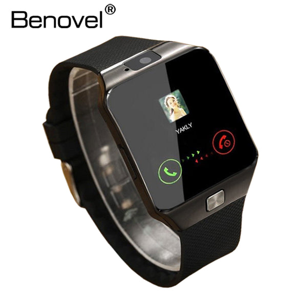 Benovel DZ09 Smart Watch With Camera Bluetooth WristWatch Sport Wearable Devices SIM TF Card Smartwatch For IOS Android Phones