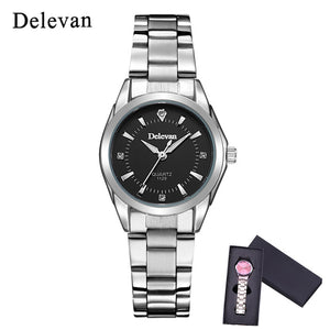 Luxury Brand Fashion Quartz Ladies Rhinestone watch Dress waterproof Watch Casual Clock relogio feminino