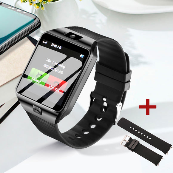 Smart Watch Phone Passometer Support SIM TF Card Fashion Smart Watch Men Women Bluetooth Call Message for Android Phone