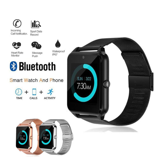 Women's Sport Watch Digital Smart Watches Bluetooth Fashion Ladies Heart Rate Monitor Fitness Tracker 2018 Android IOS