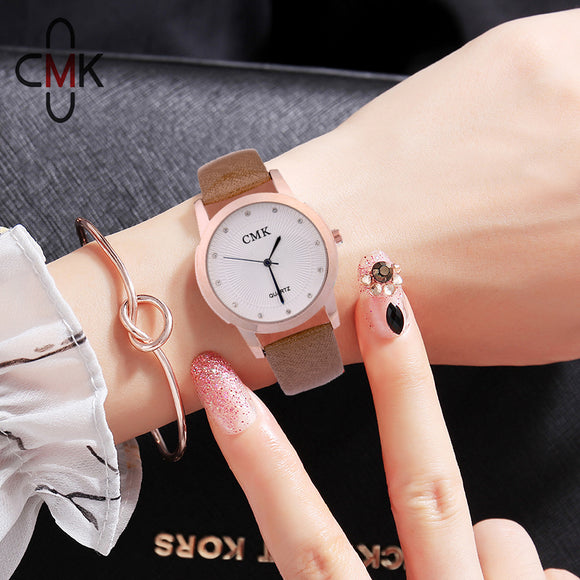 Simple Style Quartz Watch Girls Luxury Clock Famale Casual