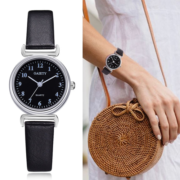 Dress Watch Retro Leather