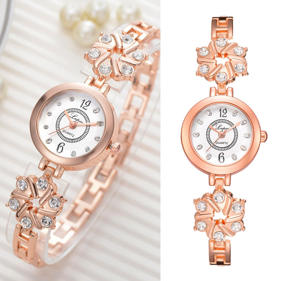Fashion Luxury Bracelet Watch Rhinestone