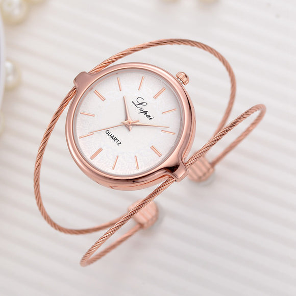 Women's Watch Luxury Bracelet Dress Quartz
