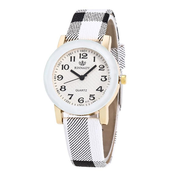 Reloj Mujer Leather Watch Quartz