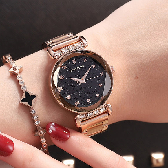 Luxury Rhinestone Female Wrist Watch