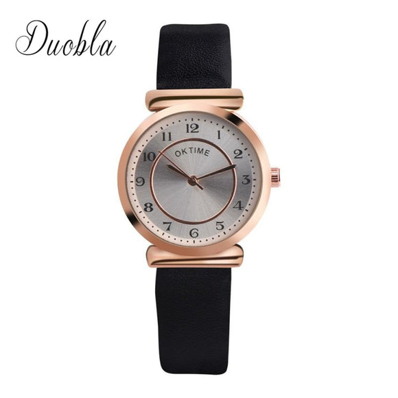 Women Retro Design Lady Bracelet Watch Delicate Dial Quartz Casual
