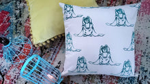 Screaming Bunnies - Pattern Print Throw Pillow Cover