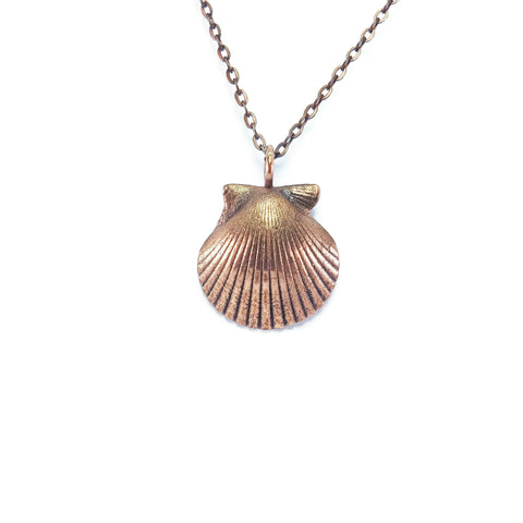 Seashell Necklace | Seashell Pendant | Sea Shell Necklace | Seashell Jewelry | Real Seashell Necklace | Electroformed Necklace | Boho