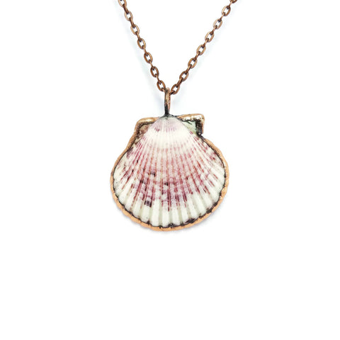 Seashell Necklace | Seashell Pendant | Sea Shell Necklace | Seashell Jewelry | Real Seashell Necklace | Electroformed Necklace | Beach Boho