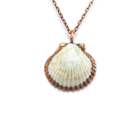 Real Seashell Necklace | Seashell Pendant | Sea Shell Necklace | Sea Shell Pendant | Seashell Jewelry | Electroformed Necklace | Boho