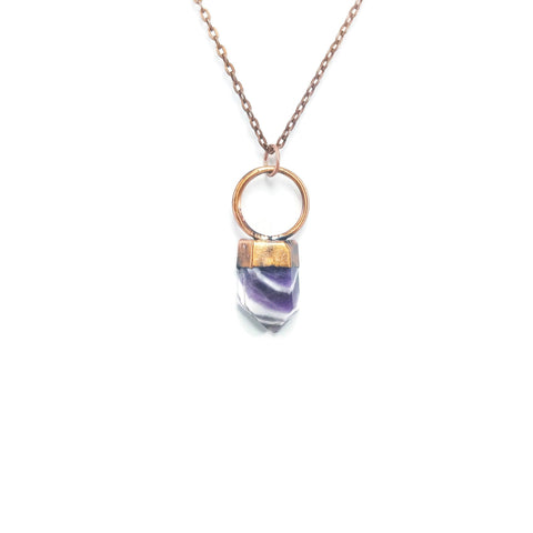Amethyst Necklace | Amethyst Pendant | Raw Amethyst Necklace | Amethyst Point Necklace | Amethyst Jewelry | Raw Crystal Necklace | Boho