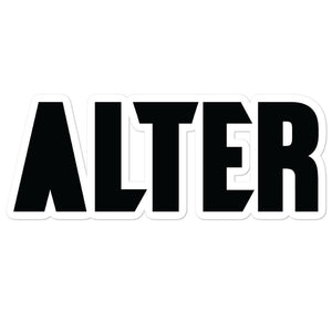 ALTER STICKERS