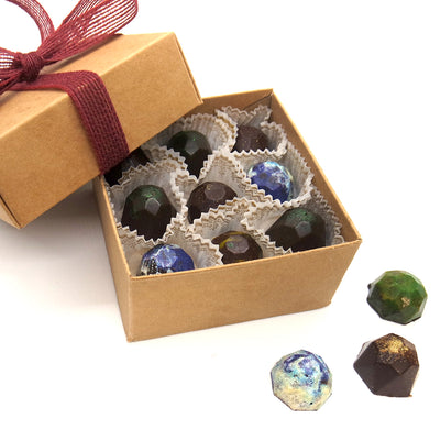 18 Organic Truffles box, Keto friendly, sugar free