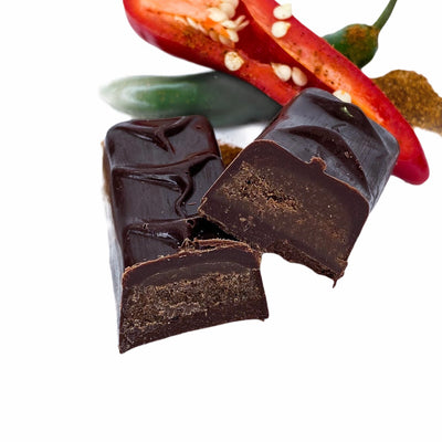 Dark Chocolate Chili Truffle Bar