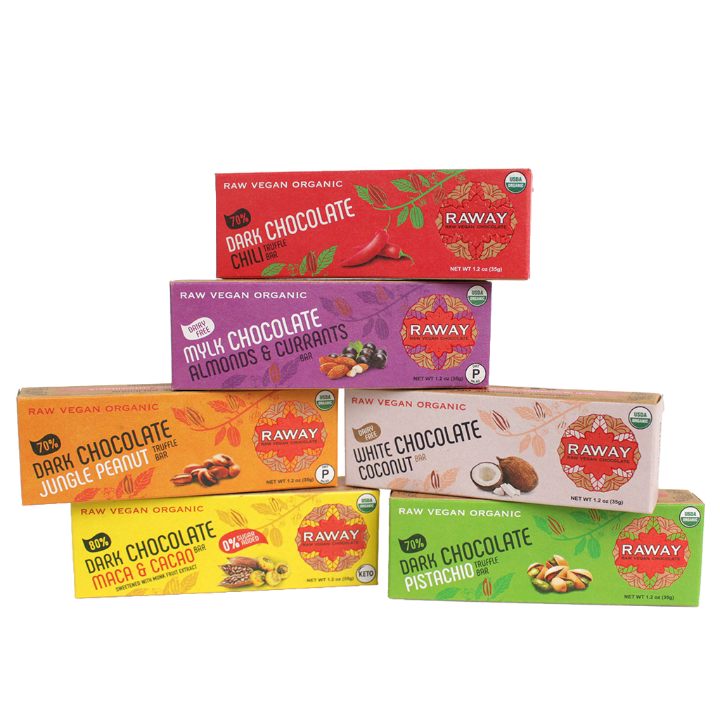 Mixed Variety Chocolate Bars (12 Pack)