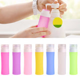 Press Bottle for Lotion Shampoo Bath Refillable Bottles Travel Accessories