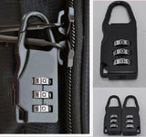 3 Digit Dial Combination Code Number Lock For Luggage Or Suitcase