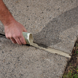 Filling Deep Concrete Joints & Cracks